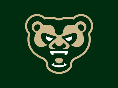 Simple Bear bears forest logos simple branding sports sport mascot logo bear