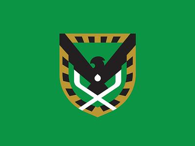 Hawks Hockey Crest design akuma sportsbranding icehockey hawks hawk hockey sports branding logo mascot sport