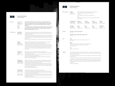 CV 2020 curriculum vitae cv design cv