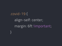 covid-19 css