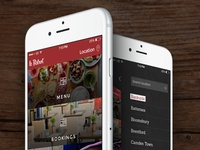 Le Bistrot iPhone App