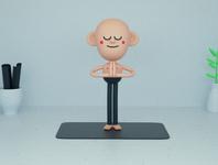 Joel, The Yoga Teacher