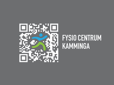 Handcrafted Custom Qrcode qrcode custom fysio centrum kamminga handcrafted inque