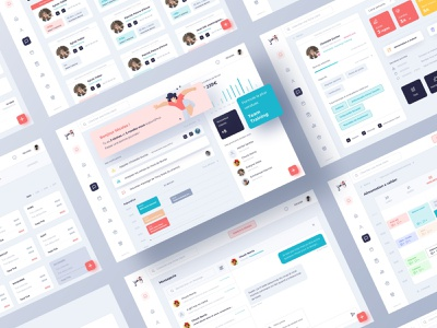Jiny layout design design dashboard app dashboad ui ux layout