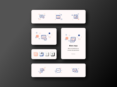Insolente Galerie layout asset pictogram icon component