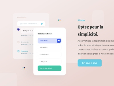 Merci Yanis chat icon branding ui layout water