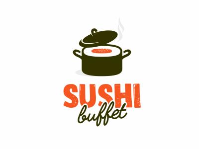 Sushi Buffet artdemix food pan japan eat buffet sushi