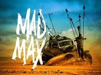 Mad Max Hand Lettering