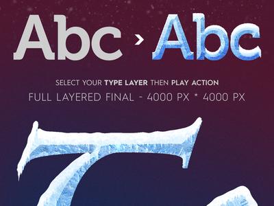 Ice & Snow Type Effect