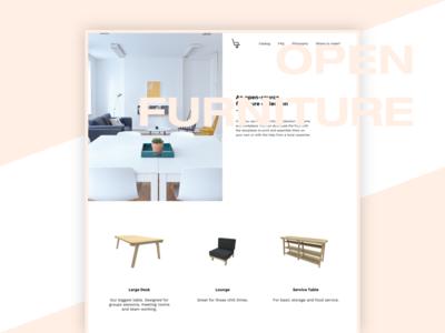 Open Furniture Project wood interior design icalia labs open furniture open source landing furniture