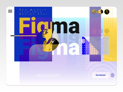 Figma UI Design graphic design ui modern figma figmadesign