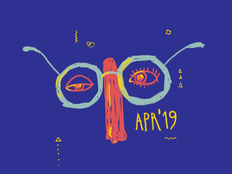 Apr 19 playlists itunes april mad specs illustration cover art