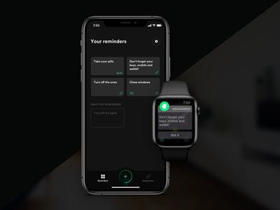 HeadKeeper app concept