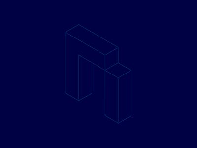 Senman motion concept dot symbol 3d motion animation technology tech minimalism minimal logotype logos logo digital development company development design clean branding brand design brand