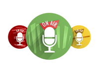 Podcast Network Badges