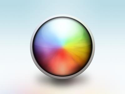 Dribbble gradient icon