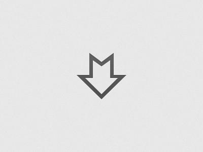 Markdown markdown icon glyph shift mark down minimal