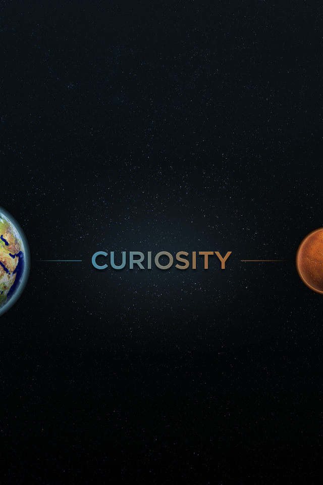 Curiosity dribbble iphone
