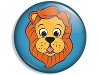 Lion Button