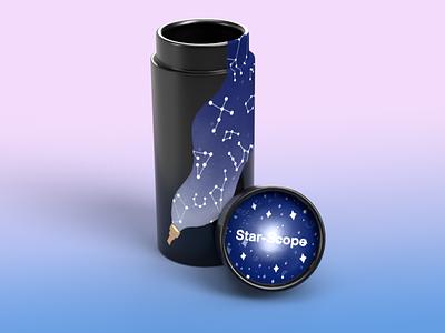 Star-Scope packaging toy design toy 3d children illustrator graphic design illustration design branding