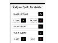 Sidebar search form
