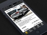 Auto iPhone App: Car Description