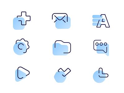 Icons set for biz.mail.ru illustrations illustration icons icon