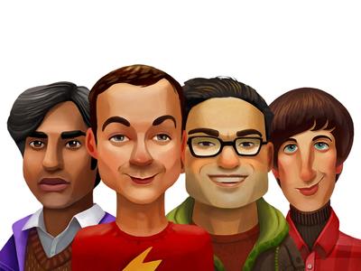 Big Bang Theory: Men