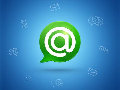 Agent PC Application agent logo splash screens sketch doodle icon icons messenger im screen messengers
