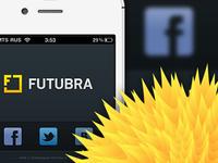 Futubra iOS App Login Screen