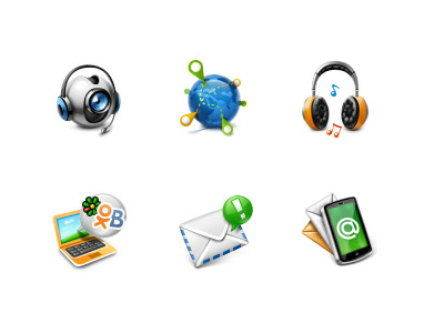 Agent Promo Site Icons agent icons messenger messengers icon