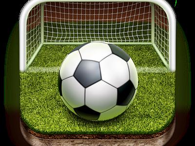 Sport iOS App Icon ball football soccer icon ios iphone sport apps icons