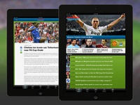 Voetbal International - iPad app