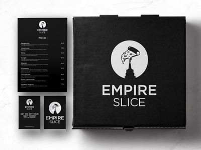 Empire Slice Logo Design and Branding