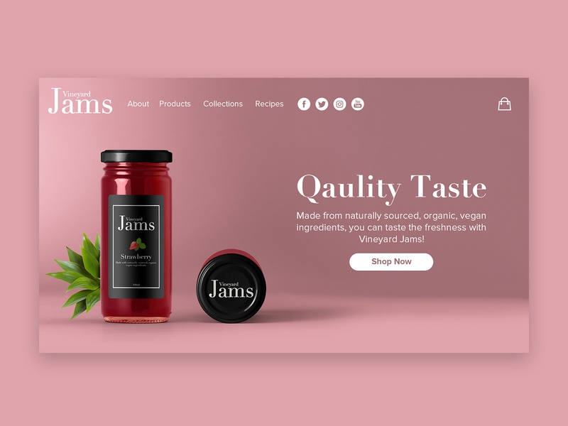 Vineyard Jams Branding Project Pt. 3