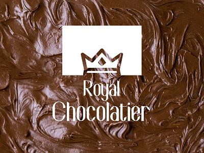 Royal Chocolatier Logo Design branding and identity branding concept brandingdesign branding design brand identity brand design brand logodesign logotype logo design logos icon typography design vector logo designer minimal branding clean