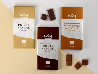 Royal Chocolatier Packaging Design graphic design graphicdesign graphic label design labels label packagedesign package design packaging design packaging package typography logo vector design designer minimal branding clean