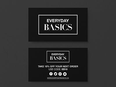 Everyday Basics Logo Design graphic  design graphic design graphicdesign graphics graphic branding design brand identity brand design brand typography vector designer minimal branding clean logodesign logotype logos logo logo design