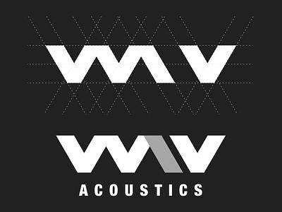 Wav Acoustics Logo Design branding design brand identity brand design branding brand graphic design graphicdesign graphic work logo design concept logo design branding logo designer logo designs logos logodesign logotype logo design logo