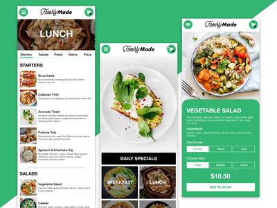 App Design For Freshly Made