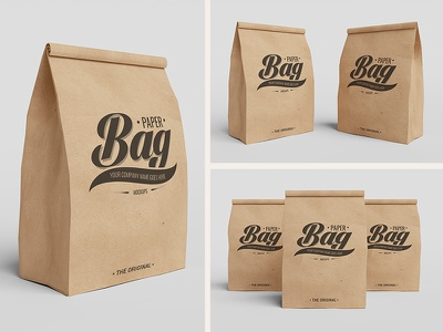 Free Paper Bag Mockups bag mockup free freebies freebie psd paper