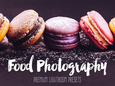 Food Collection: Photoshop Actions photography presets lightroom actions photoshop food