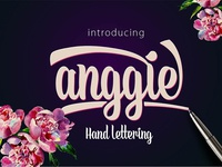 Anggie Lettering Typeface