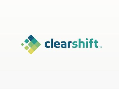 Clearshift vector logo design spire branding graphic design dallas b2b