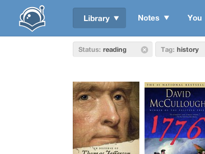 Improving the library readernaut library books blue