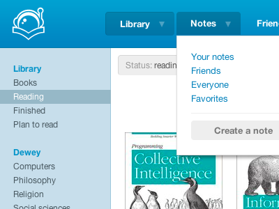 Last shot (I think) readernaut library books