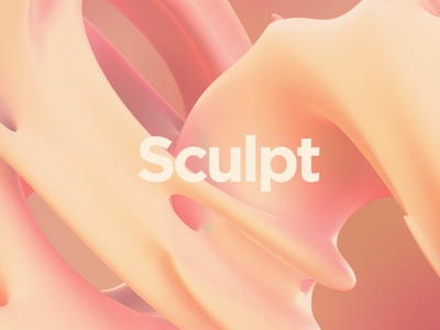 Sculpt: Silky Smooth Formations gradient aesthetic design abstraction shape shapes silky silk sculpture revolution organic movement gyration gooey formations fluid cyclone complex abstract 3d