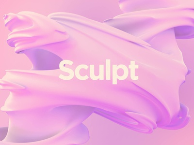 Sculpt: Silky Smooth Formations background design tornado silky silk shapes shape sculpture revolution organic movement gyration gooey funnel fluid formations cyclone complex abstract 3d