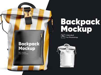 Backpack Mockup backpack app package print photoshop mock-ups scene generator ux branding identity freebie free design scene creator ui download psd mockups mock-up mockup