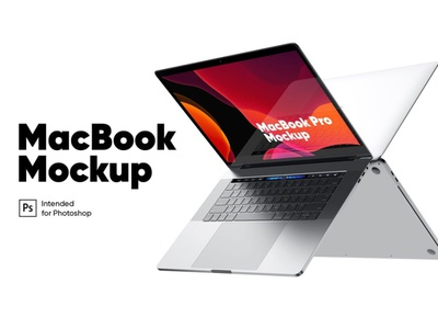 MacBook Pro Mockup website webpage ux web ui presentation theme macbook mac laptop display simple clean realistic phone mockup smartphone device mockup abstract phone